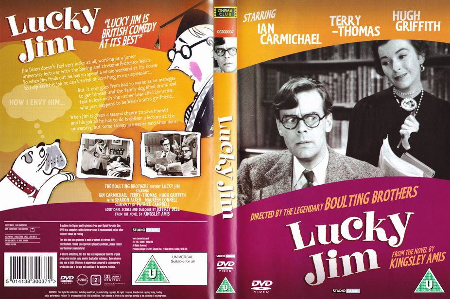 lucky jim Complete summary of kingsley amis' lucky jim enotes plot summaries cover all the significant action of lucky jim.